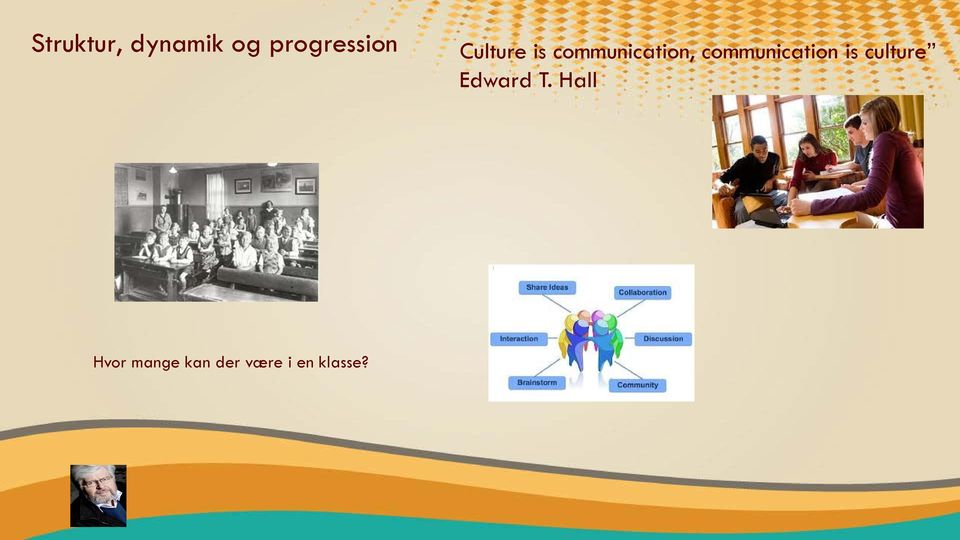 cmmunicatin is culture Edward T.