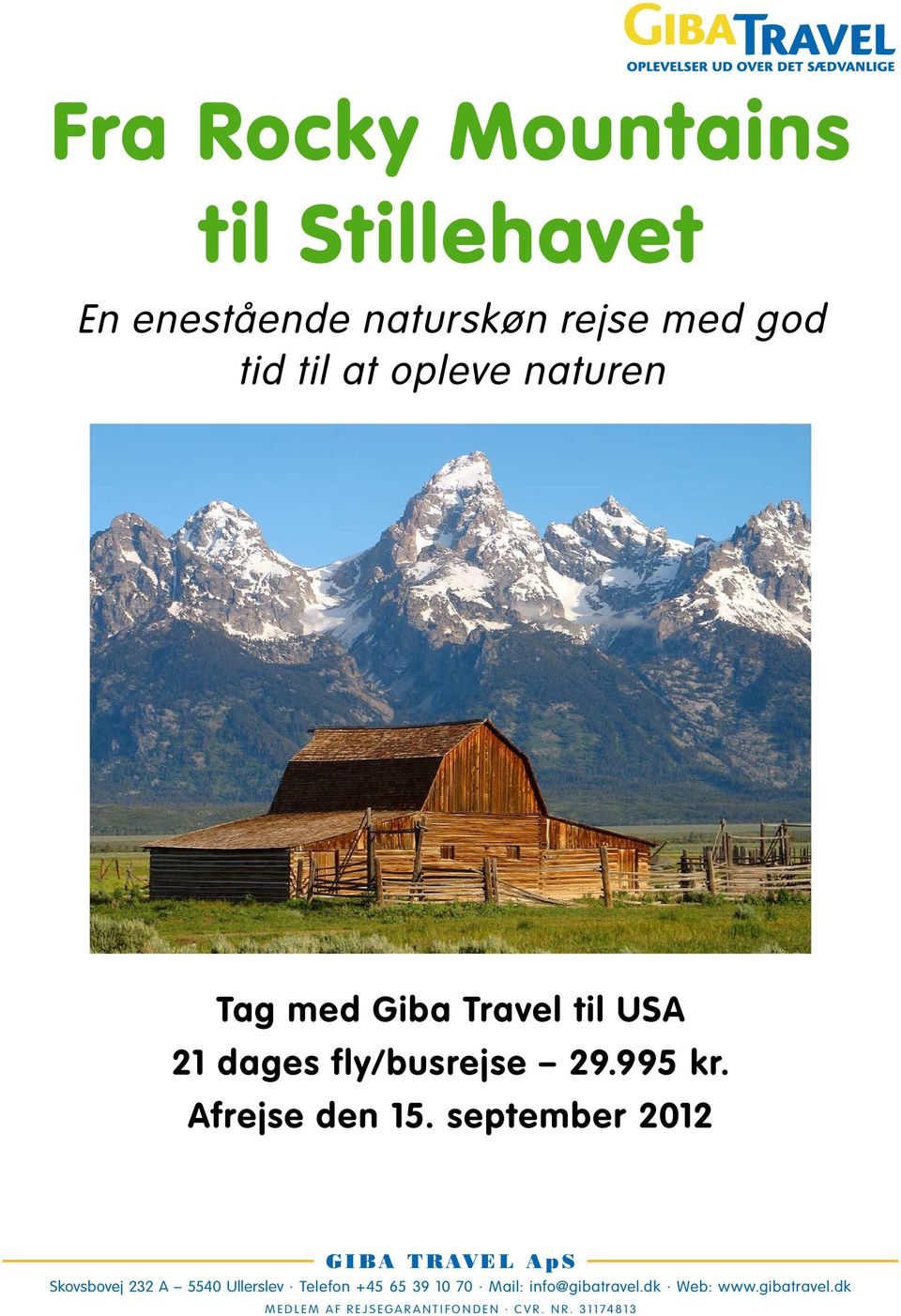 opleve naturen Tag med Giba Travel til USA 21