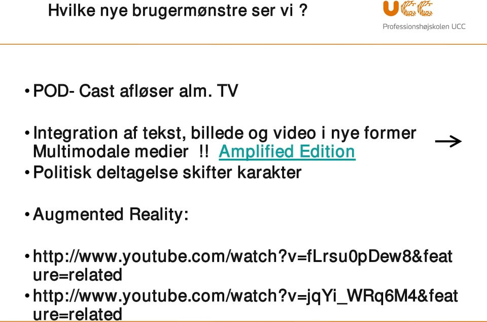 ! Amplified Edition Politisk deltagelse skifter karakter Augmented Reality: