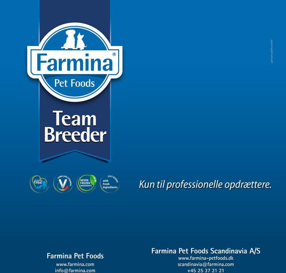 Farmina Pet Foods www.farmina.com info@farmina.