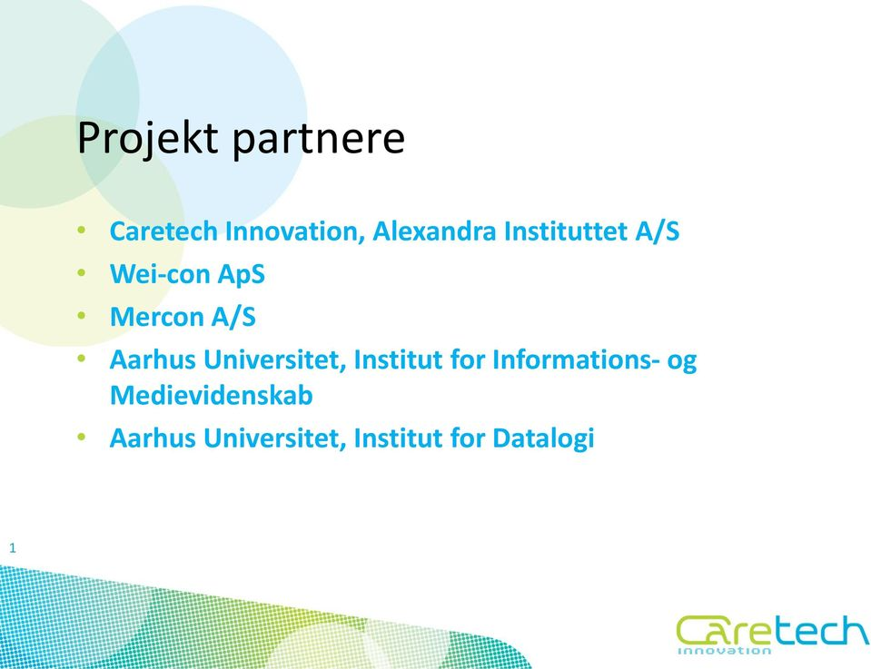Universitet, Institut for Informations- og