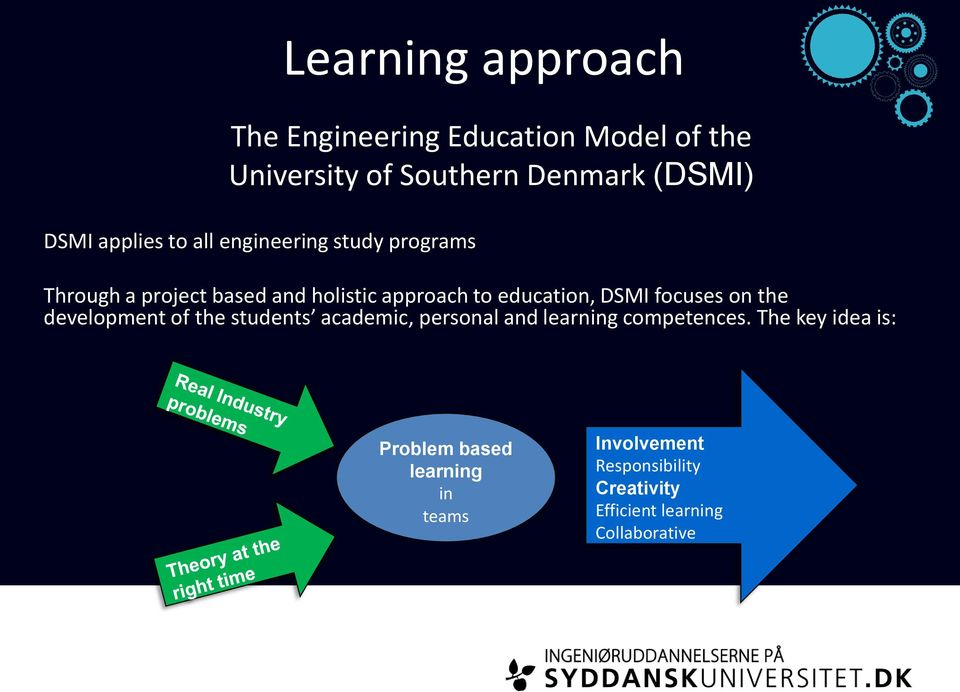 education, DSMI focuses on the development of the students academic, personal and learning competences.