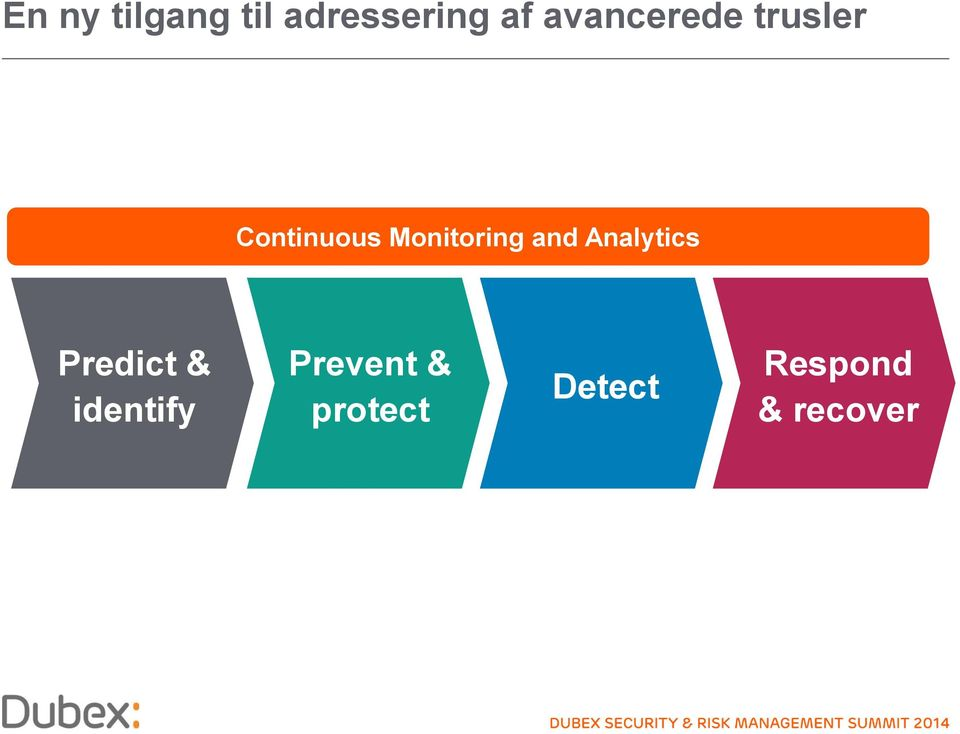 Monitoring and Analytics Predict &