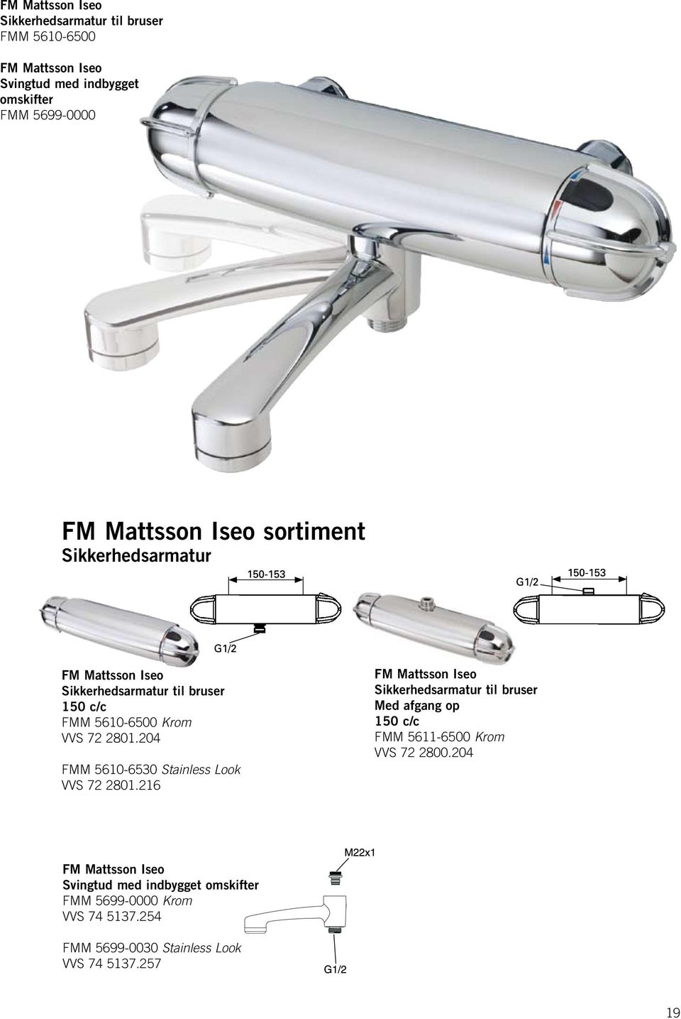 204 FMM 5610-6530 Stainless Look VVS 72 2801.