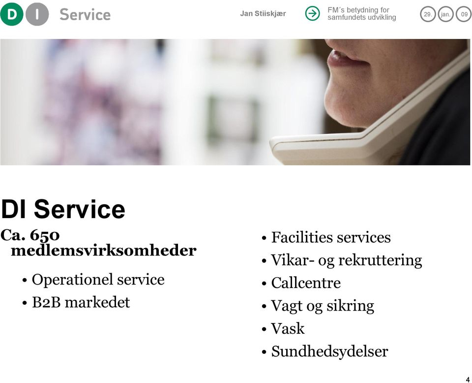 service B2B markedet Facilities services