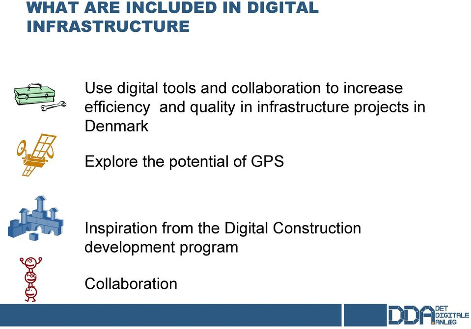 infrastructure projects in Denmark Explore the potential of GPS