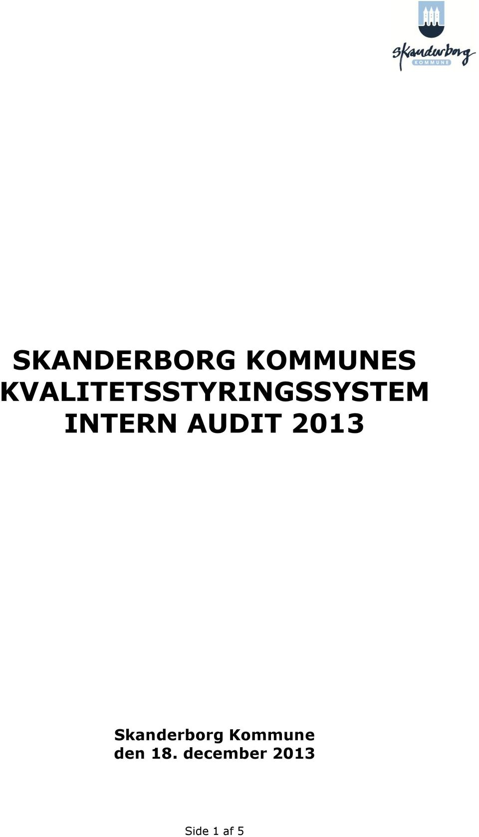 INTERN AUDIT 2013