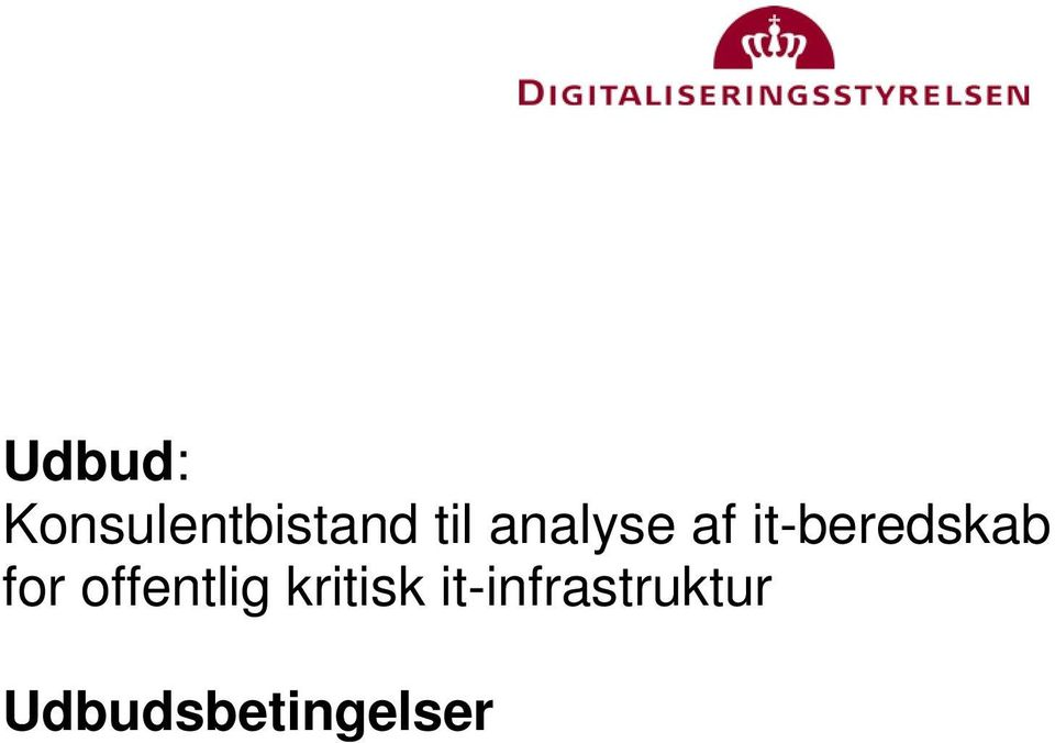it-beredskab for offentlig