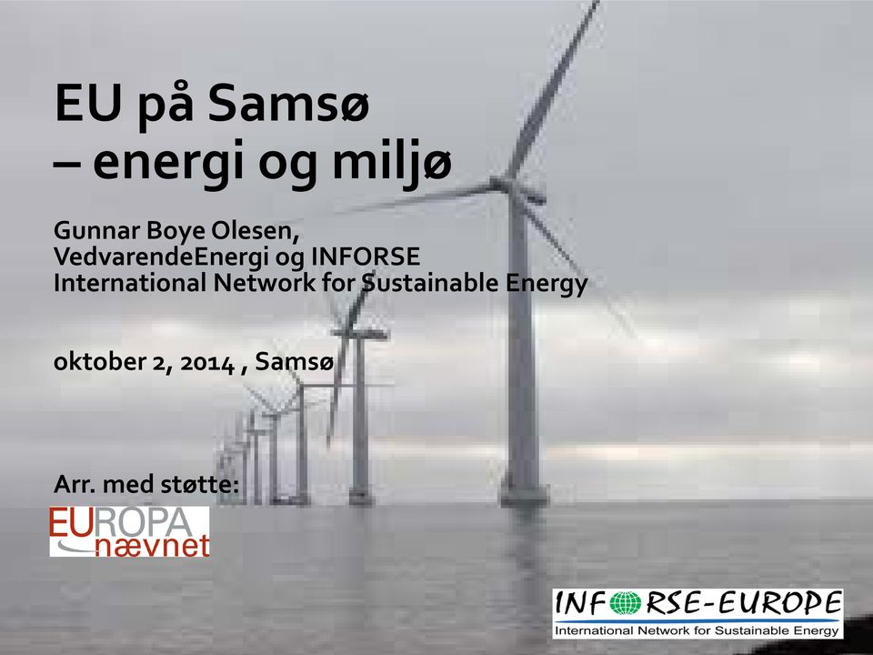 International Network for Sustainable