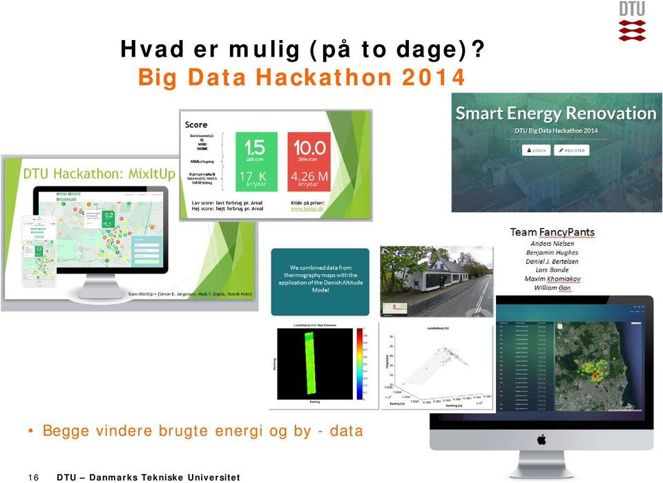 Big Data Hackathon 2014