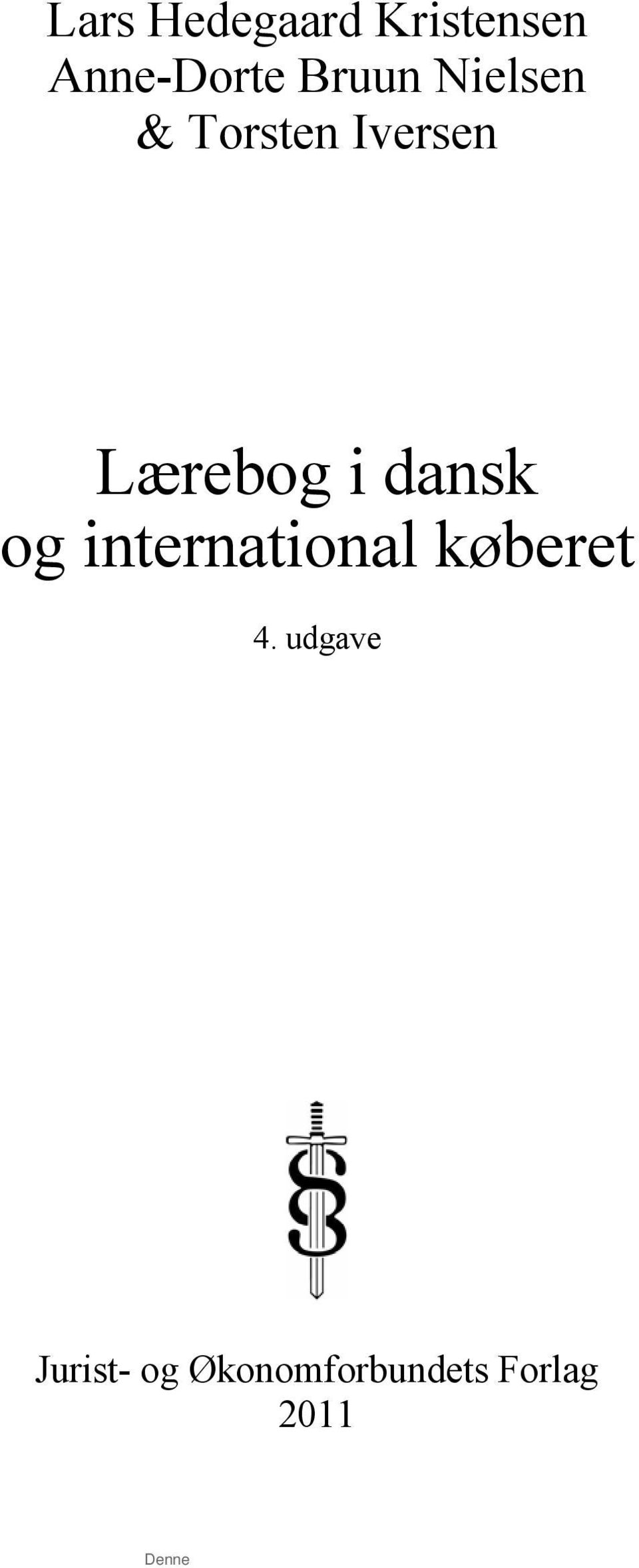 i dansk og international køberet 4.