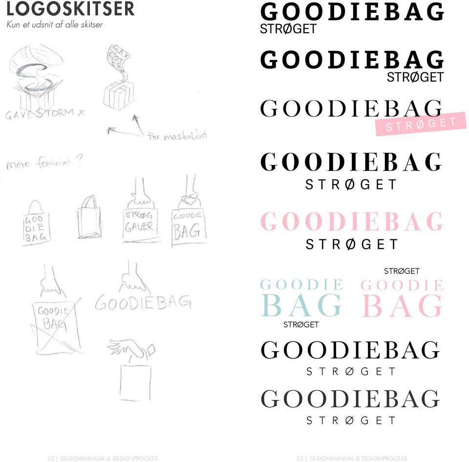 BAG STRØGET STRØGET GOODIE BAG GOODIEBAG S T R Ø G E T GOODIEBAG S T R