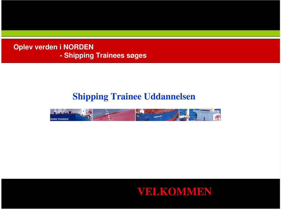 søges Shipping