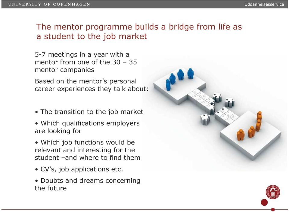 transition to the job market Which qualifications employers are looking for Which job functions would be relevant