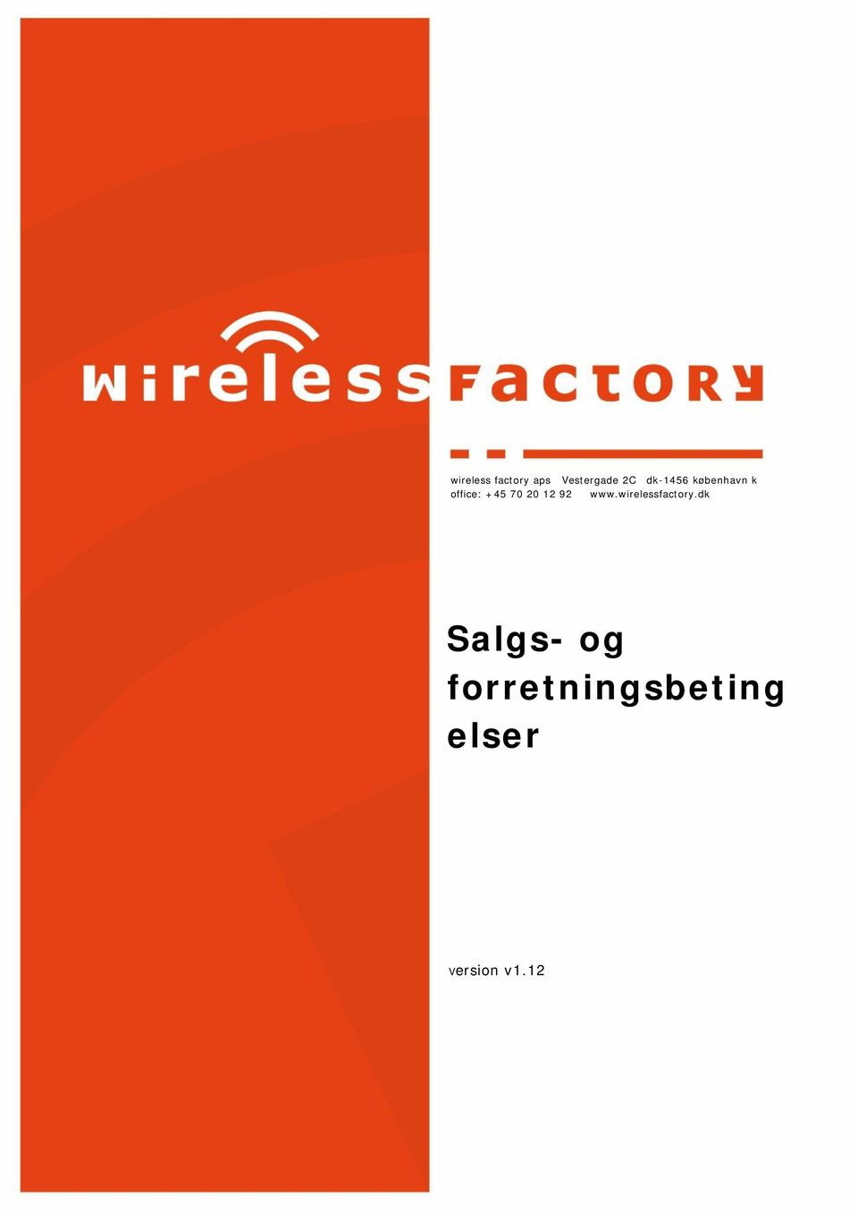 12 92 www.wirelessfactory.