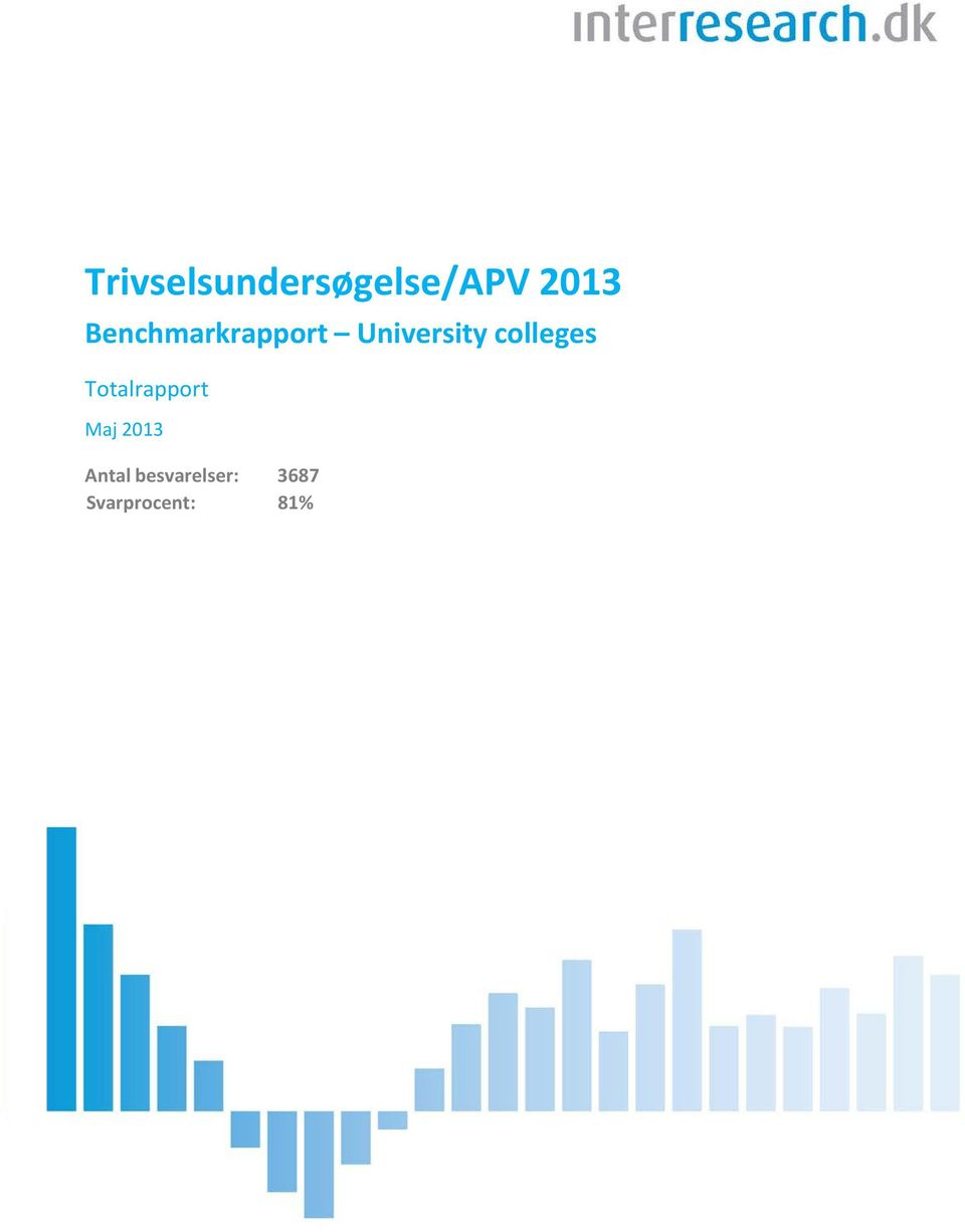 colleges Totalrapport Maj 203