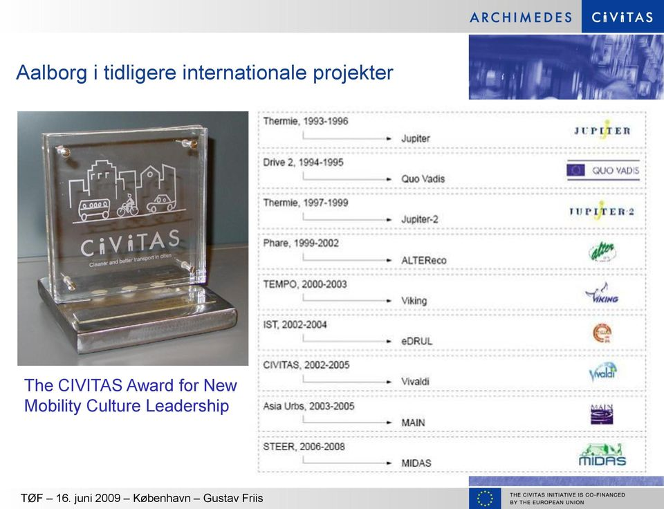 The CIVITAS Award for