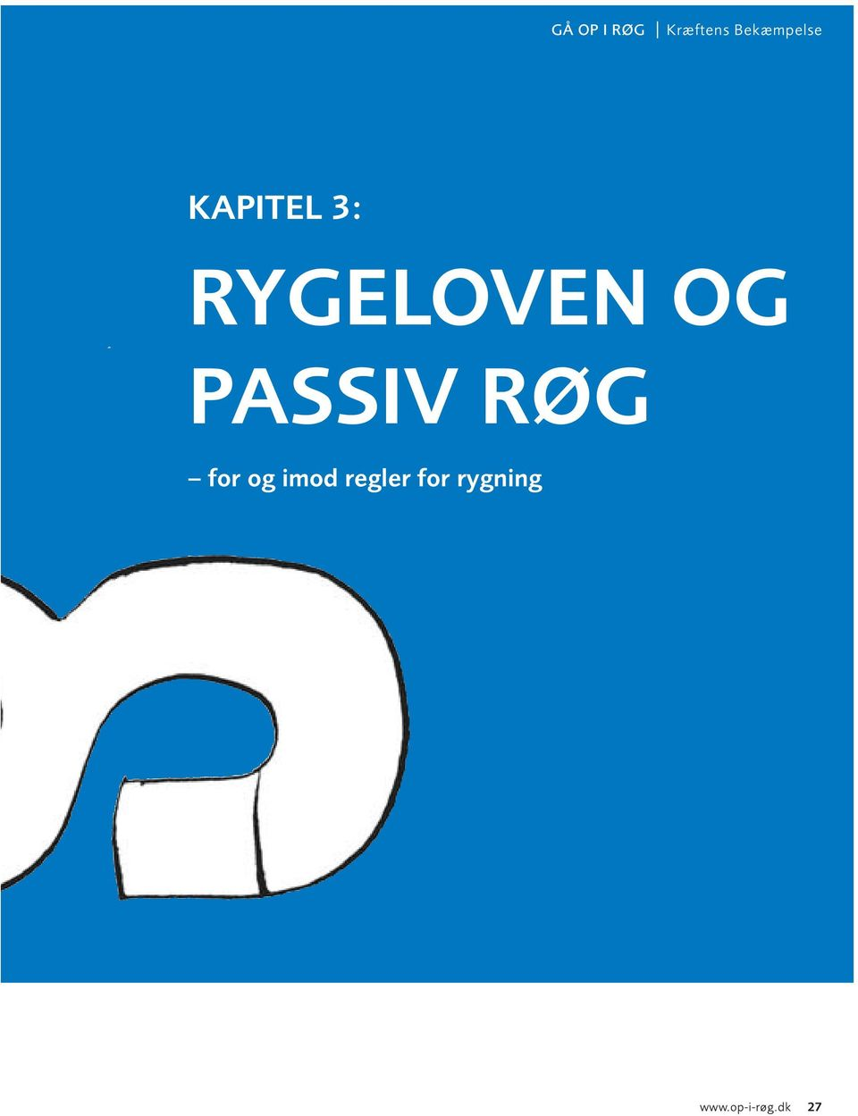 RYGELOVEN OG PASSIV RØG for