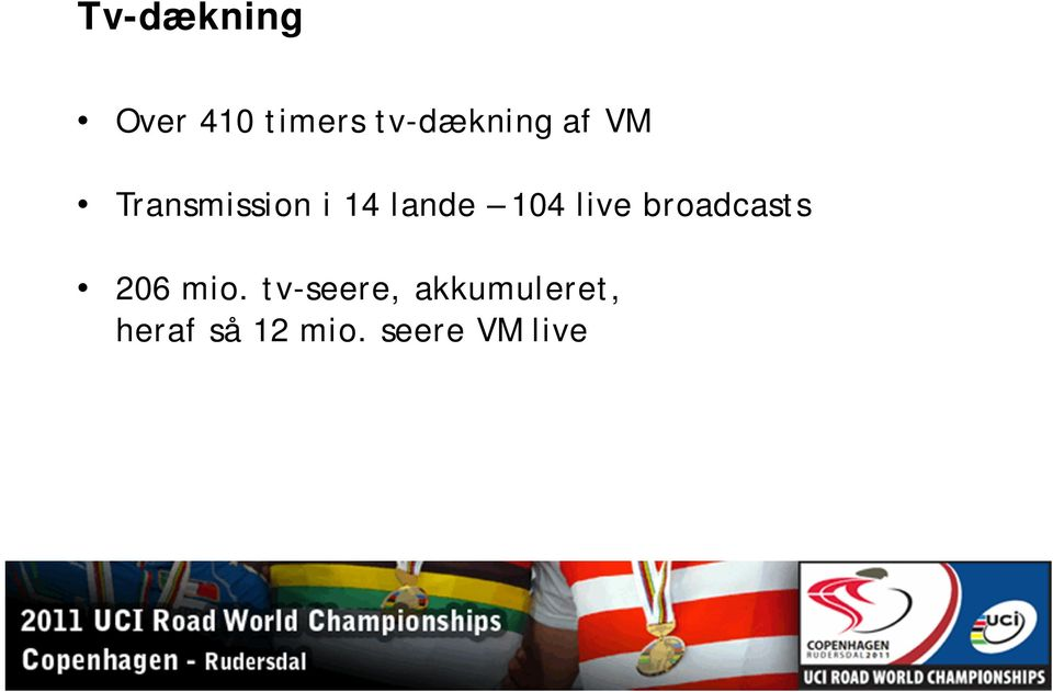 live broadcasts 206 mio.