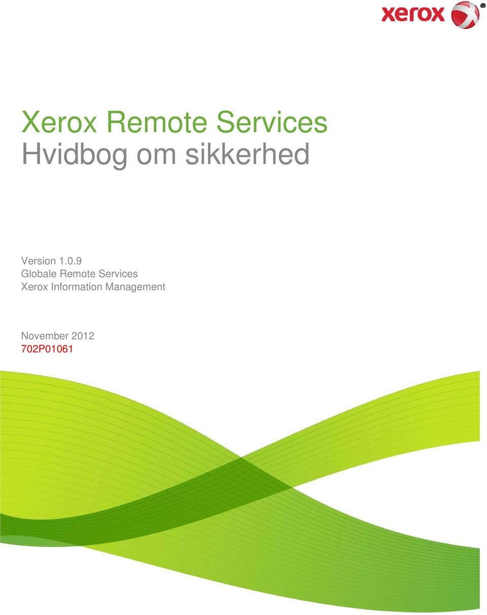 9 Globale Remote Services Xerox