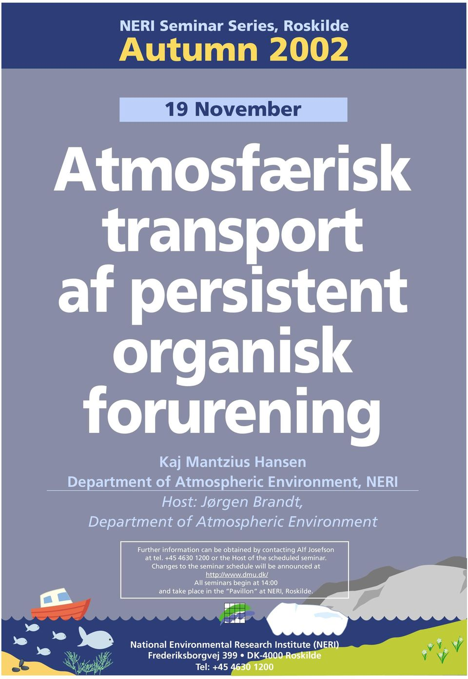 Department of Atmospheric Environment, NERI