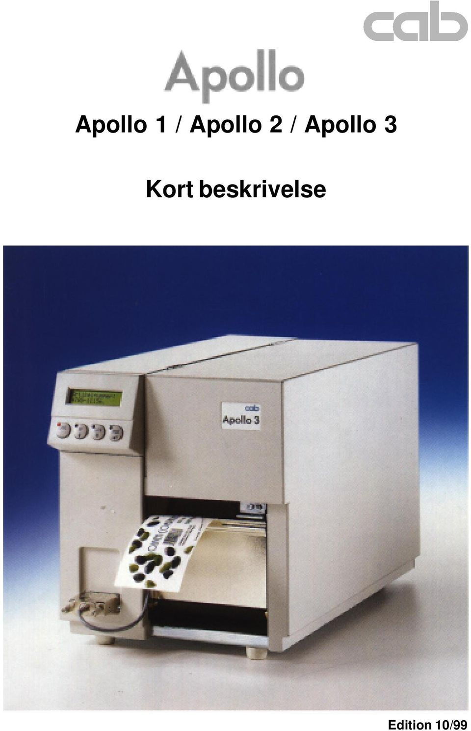 Apollo 3 Kort