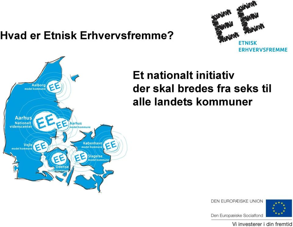 Et nationalt initiativ