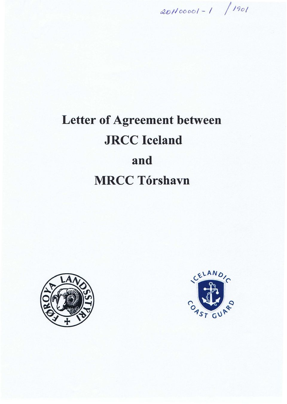 Agreement between
