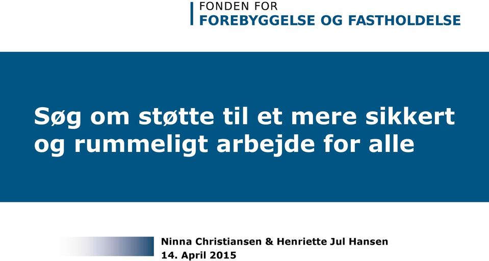 for alle Ninna Christiansen &