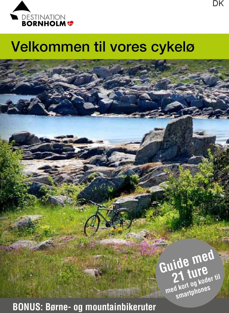 mountainbikeruter Guide med