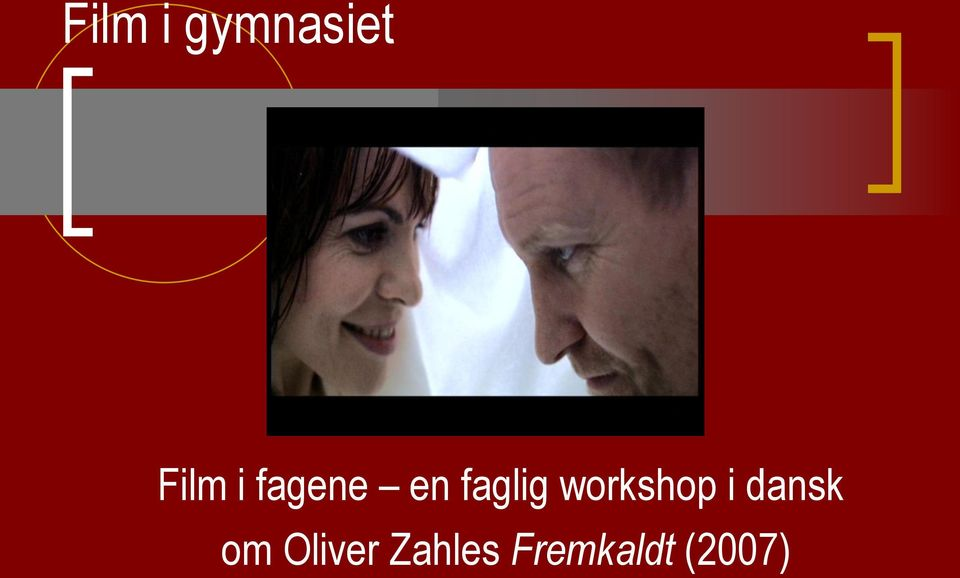 workshop i dansk om