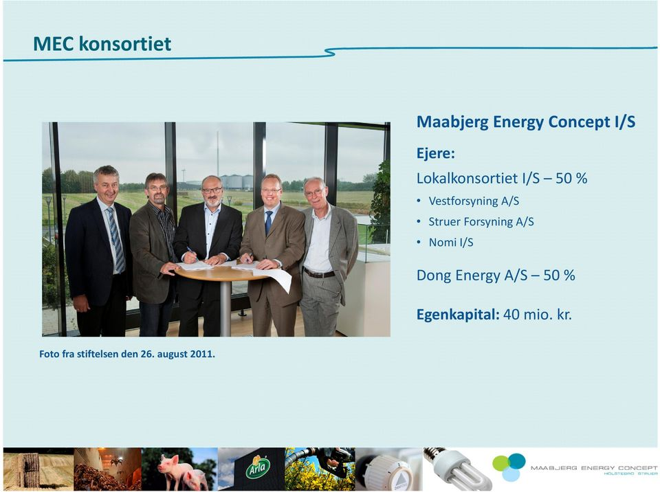 Forsyning A/S Nomi I/S Dong Energy A/S 50%