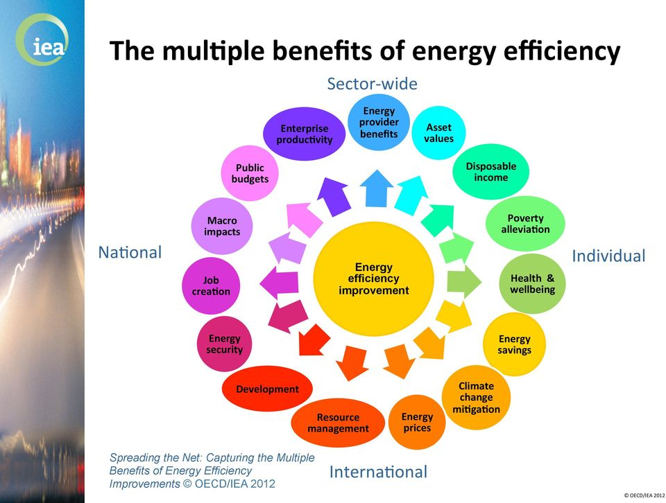 Health & wellbeing Individual Energy security Energy savings Development Resource management Energy prices Climate change