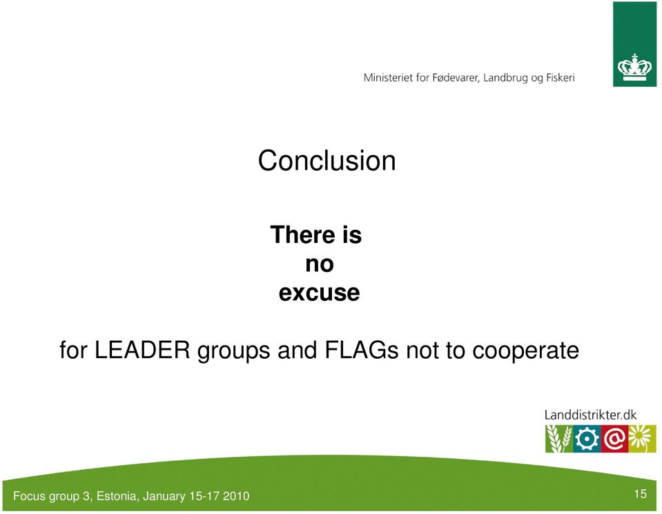 LEADER groups and