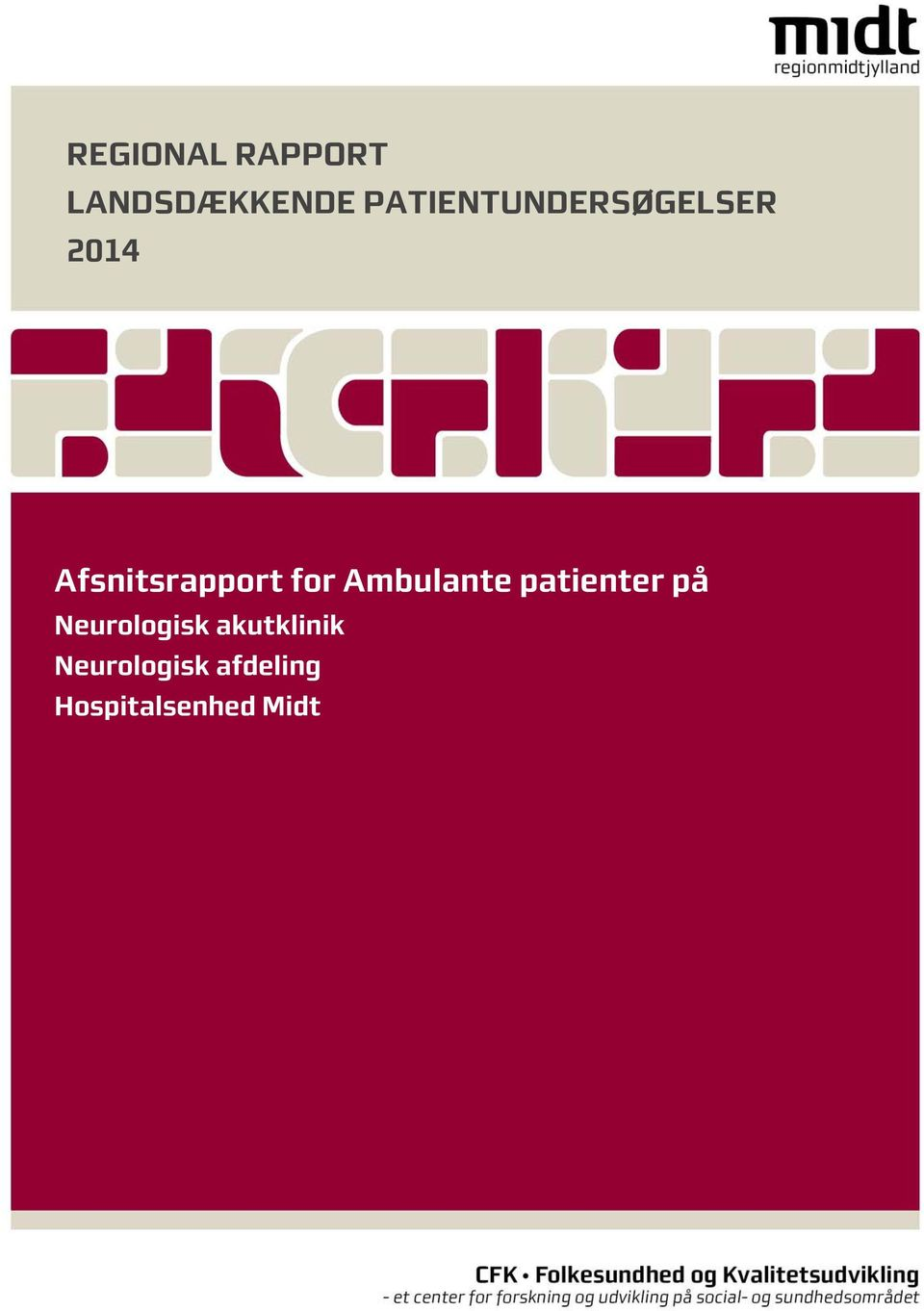 for Ambulante patienter på Neurologisk