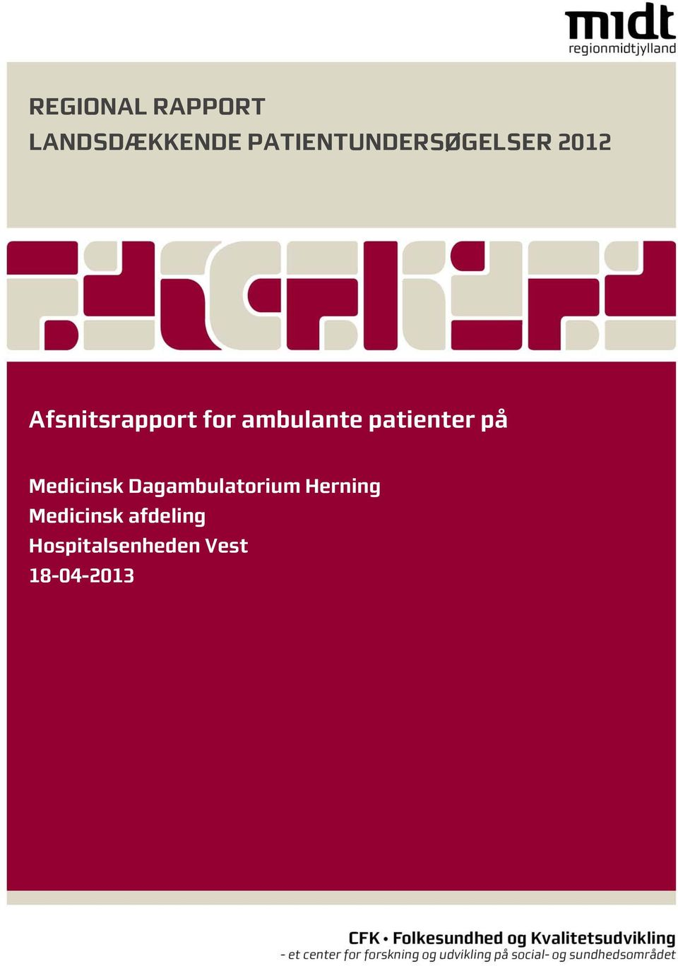 ambulante patienter på Medicinsk