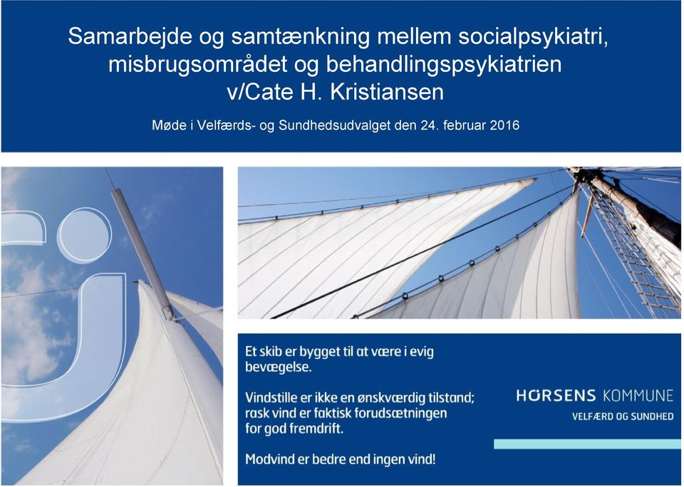 behandlingspsykiatrien v/cate H.