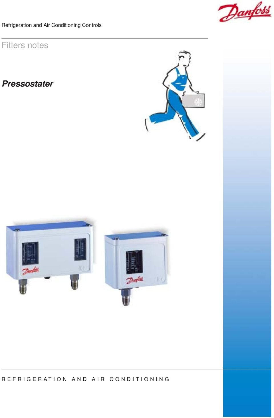 Fitters notes Pressostater