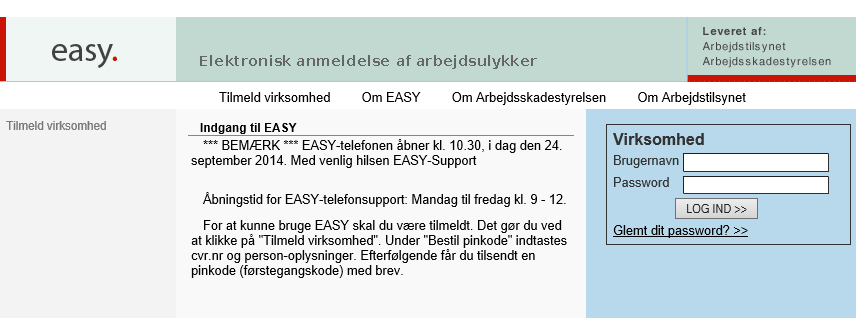 Arbejdsskader https://easy.ask.