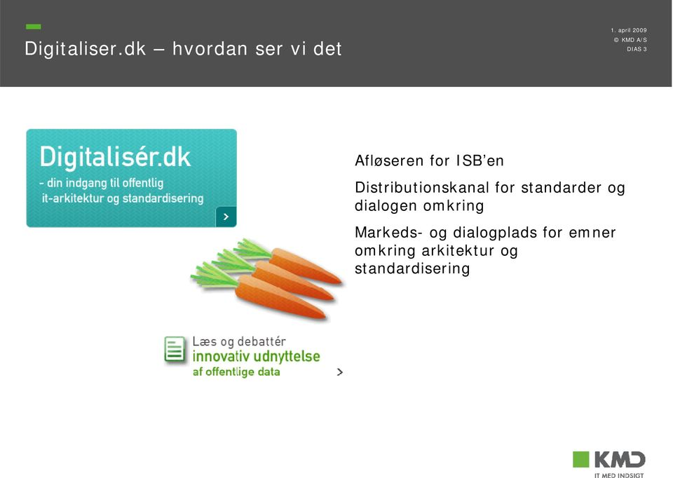 en Distributionskanal for standarder og