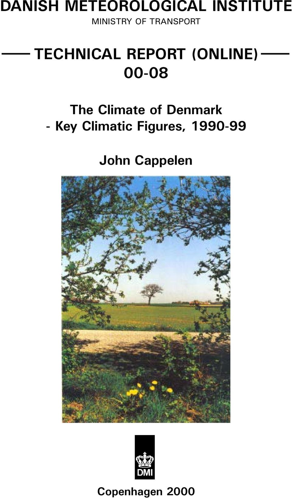 00-08 The Climate of Denmark - Key