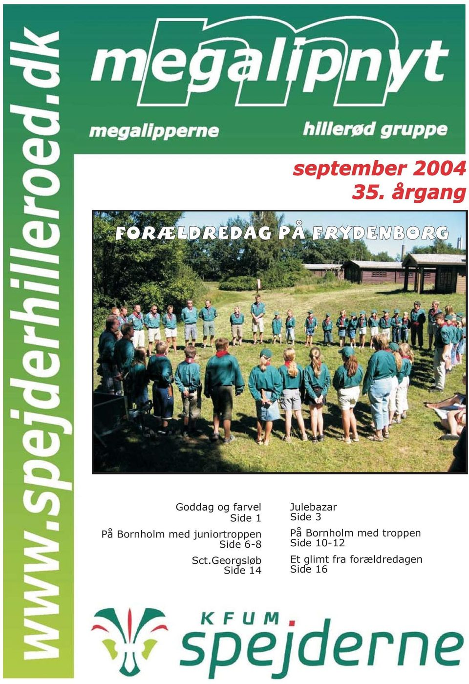 Georgsløb Side 14 Julebazar Side 3 På