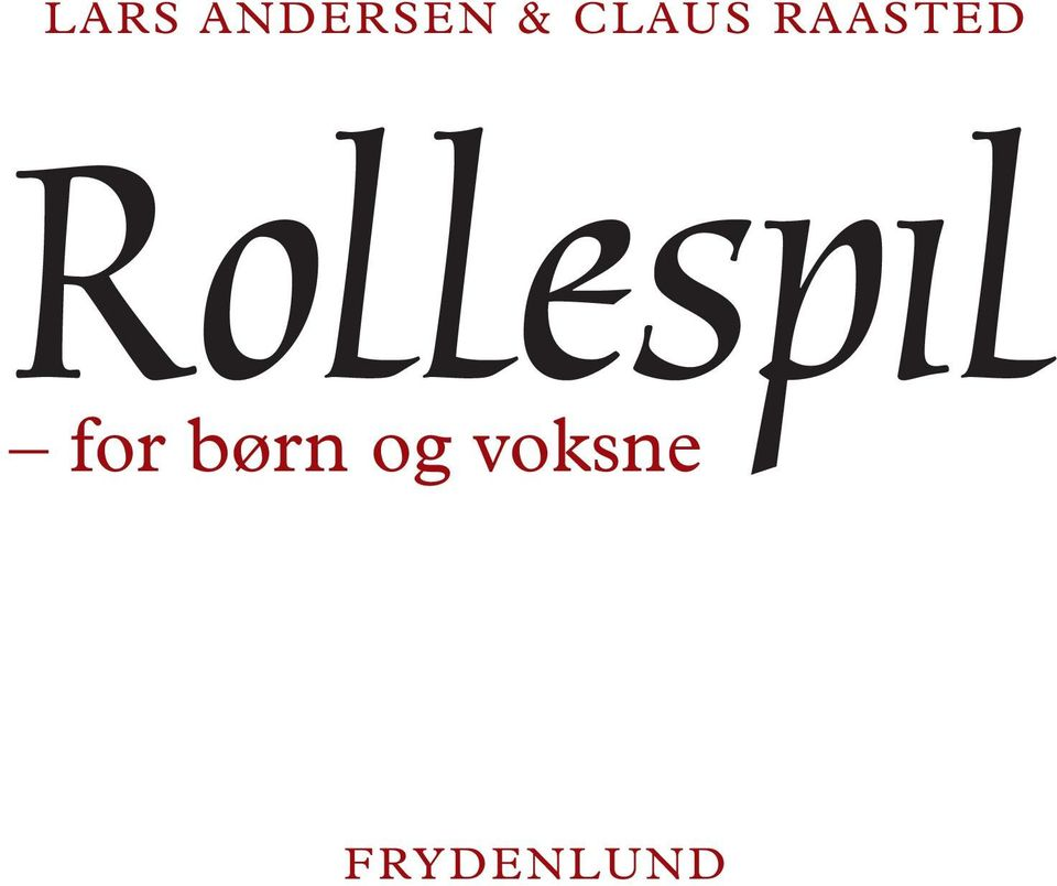 Rollespil for