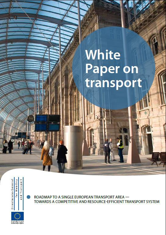 EU Transport White Paper 2011 Reduce Europe's dependence on imported oil Cut carbon emissions in transport by 60% by 2050 Modal shift: 30% off road by 2030 50 % by 2050 Multi-modal: European corridor