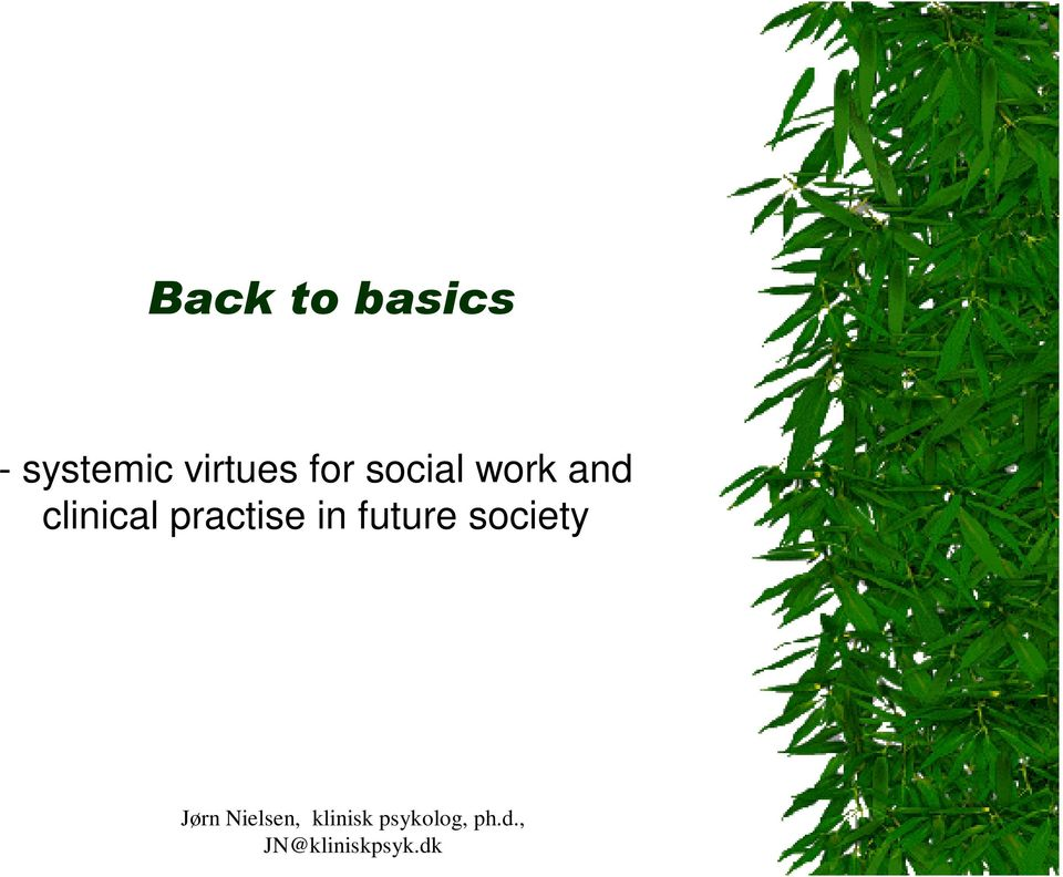social work and