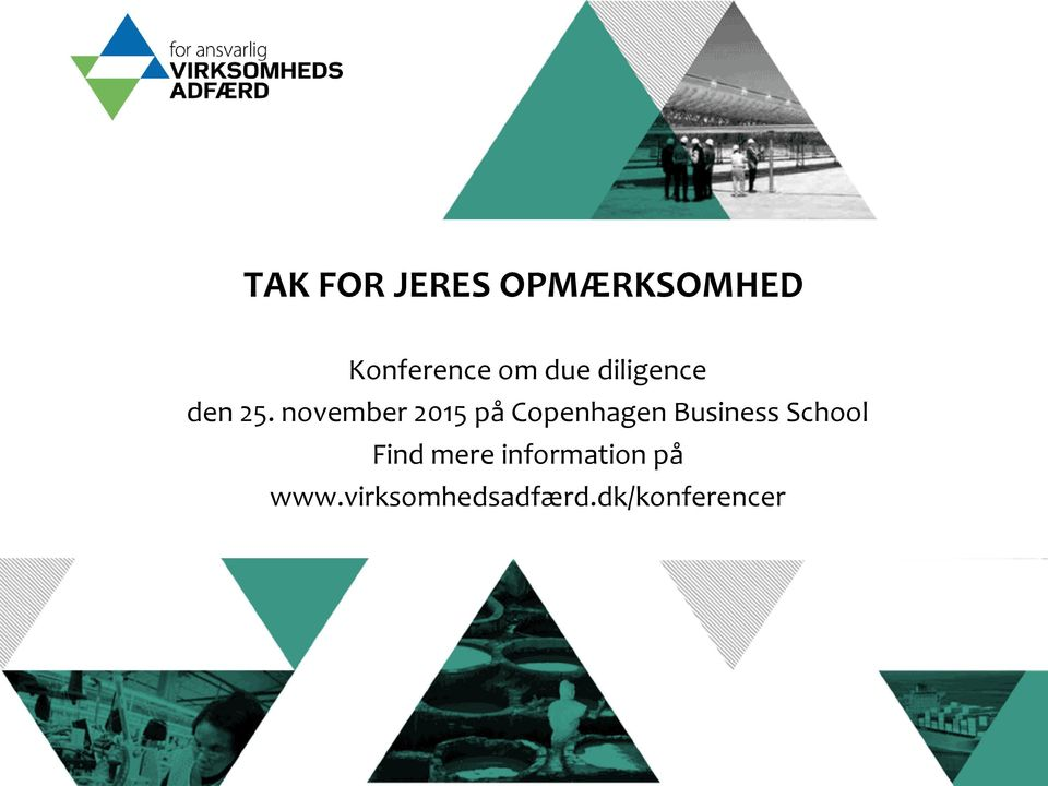 november 2015 på Copenhagen Business