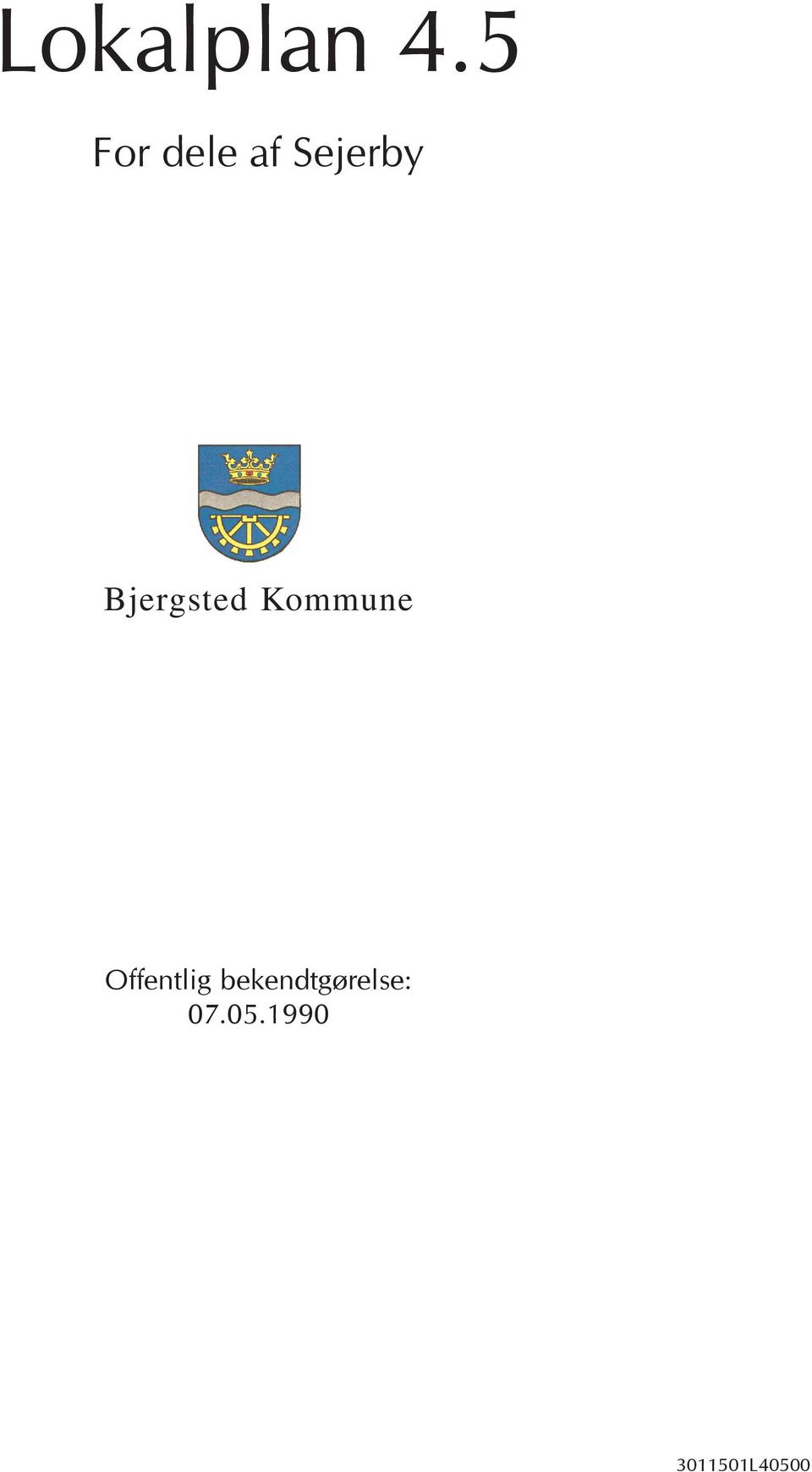 Bjergsted Kommune
