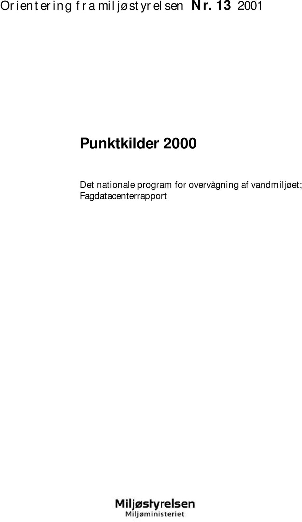 nationale program for overvågning