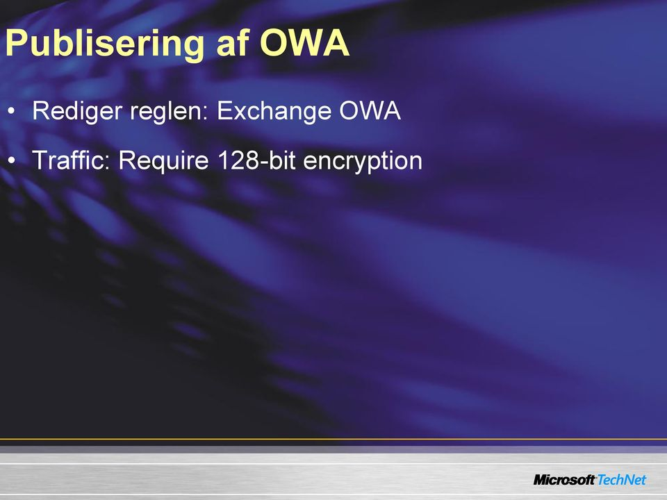 Exchange OWA