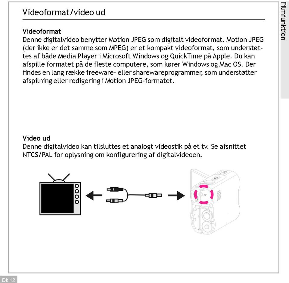 Du kan afspille formatet på de fleste computere, som kører Windows og Mac OS.